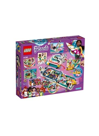 Lego Lego Friends Kurtarma Görevi Teknesi 41381 Renkli